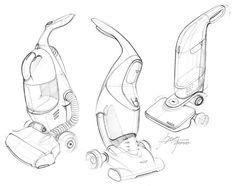 Vacuum sketch. sketch-a-day-276