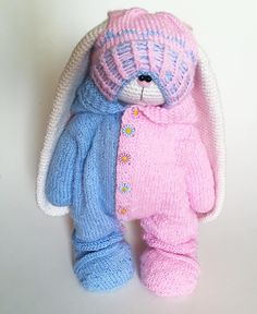 "792 Likes, 58 Comments - Knitting ToysМК (@olga_toys_handmade) on Instagram: ""К этой зайке скоро присоеденится сестренка"""