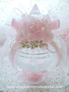 Romantic Pink Rose Candy Dish Turkey  by faithwingz, via Flickr
