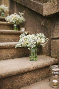 Garden step flowers