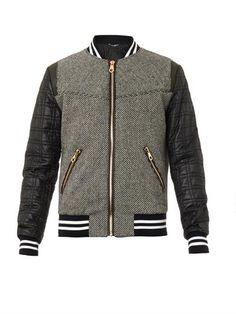 Dolce & Gabbana Wool-blend bomber jacket