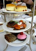 Afternoon tea at the Chateau Laurier - gluten free version!