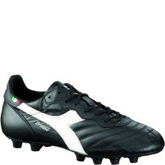 cab927958cd Diadora Brasil Italy OG MD PU 1984 Black White Firm Ground Soccer Cleats -  model 170852