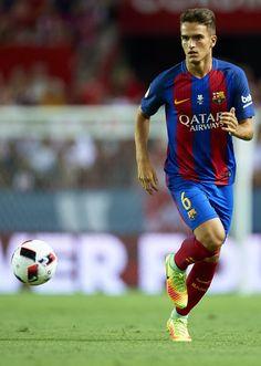 Denis Suarez Photos - Denis Suarez of FC Barcelona in action during the match…