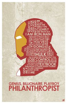Ironman Quote Poster by outnerdme on DeviantArt