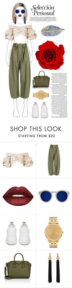 """make it works"" by fildzxh on Polyvore featuring Johanna Ortiz, STELLA McCARTNEY, Lime Crime, Illesteva, Golden Goose, Nixon, Givenchy and Yves Saint Laurent"