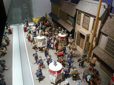 Diorama of one of the Hakata festivals at the Michiya Folk Museum, Fukuoka