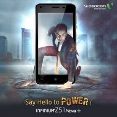Charge yourself with the new #Videocon Infinium Z51 Nova+! Know more about it here - www.videoconmobiles.com/z51nova-plus