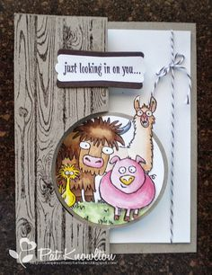 Stampin' with my Furbabies: From the Herd