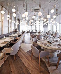 Ruski — модный ресторан с национальным драйвом • Интерьеры • Дизайн • Интерьер+Дизайн