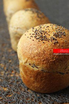 Bocconcini di pane integrale per hamburger