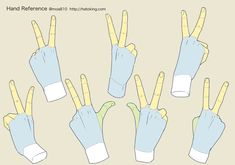 Hand Drawing Reference, Drawing Reference Poses, Drawing Poses, Art Poses, Peace Sign Drawing, Peace Sign Hand, Hand Pose, Learn Art, How To Draw Hands