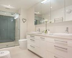 Image result for family bathroom double sink