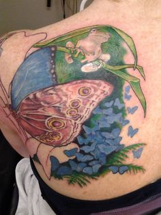 Awesome progress by Illustrated Lynn @ Tattoo Junkies!