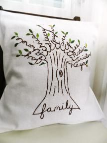 family tree pillow - https://www.etsy.com/listing/93292304/personalized-family-tree-pillow-cover?