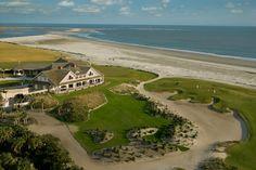 Kiawah Island Golf Resort Had drinks on the veranda overlooking the ocean  with Burt, John and Candy. Great pro shop.