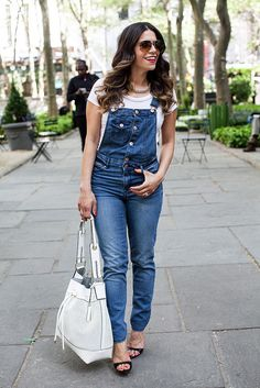 25 Incredible Spring Outfits That'll Change Your Mind About Overalls | StyleCaster