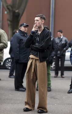 fashion week fishermans pants - Google Search