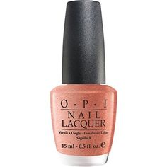 Opi Nail Lacquer, Cozu Melted in The Sun,