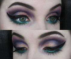 """ Winner of my Pick A Palette post was none other than the @urbandecaycosmetics Vice 4 palette!! Find a tutorial for this look I created with the Vice 4…"""