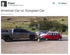 The size of cars. | Here Are The Things French People Find Slightly Weird In The US