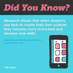 Tech is here to stay, so why not use it as a tool to engage students? The research shows that it pays off.