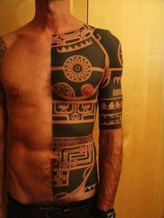 Maori Tattoo #maori #tattoo #tattoos