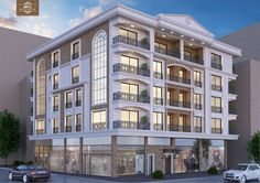 Building Front, Building Facade, Building Exterior, Building Design, Neoclassical Architecture, Facade Architecture, Residential Architecture, Villa Design, Facade Design
