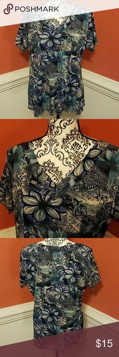 Jaclyn Smith blouse size 2X Jaclyn Smith blouse size 2X Jaclyn Smith Tops Blouses