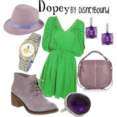 Dopey, created by lalakay on Polyvore