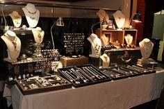Mystic Pieces Jewelry Display at RAW: Natural Born Artist Scottsdale, AZ 4/12