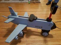 Jet toddler riding toy- KC135 tanker