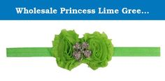 Wholesale Princess Lime Green Shabby Shamrock Headband. This soft and adorable cotton headband is the perfect piece to complete any outfit! No muss/No fuss, simply slip on over baby's head for a comfortable one-size-fits-all classic headband. Wholesale Princess - Where Adorable Meets Affordable. We also have a huge selection of matching hair accessories, shoes, bows, legwarmers and bloomers to choose from that will complete your stylish look.