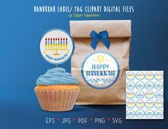 Party Items, Eps Vector, Hanukkah, Label, Menu, Tags, Etsy, Party Stuff, Menu Board Design