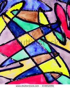 Rid, Royalty Free Stock Photos, Stripes, Abstract, Colors, Illustration, Modern, Pictures, Painting