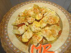 Canapés de sobrasada  y huevo de codorniz
