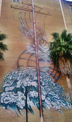 Downtown Orlando, FL street art