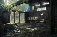 Warehouse, Mike Paolilli on ArtStation at https://www.artstation.com/artwork/warehouse-0a2943a5-7029-4bb5-907c-71a33f92dd48