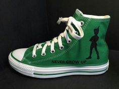 ~Sneakers~ ~Converse~ ~High~ ~Green~ ~Peter Pan~