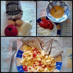 Zöldséges tojás