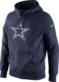 Dallas Cowboys Navy Nike Classic Logo PO Hooded Sweatshirt