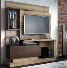 modular rack mesa tv-lcd-led 32 42 50 home living moderno Tv Unit Decor, Tv Wall Decor, Tv Cabinet Design, Tv Wall Design, Home Para Tv, Lcd Panel Design, Tv Unit Furniture, Modern Tv Wall Units, Rack Tv