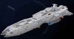 Atlas Class Super Carrier Commission by *HandofManos on deviantART
