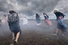 Marianne Rosenstiehl, Les limaces, de la série The Curse, 2014 ©Marianne Rosenstiehl