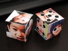 printable photo cube.  I made it, saved it, opened in photoshop, cropped off the blank part of the paper & saved as a jpeg, printed as an 8x10 to get the biggest cube possible. I used plain paper - came out nice.