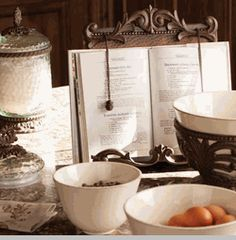 Cookbook Holder - Antique Copper