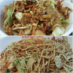 #mongolian #lunch at  #alabangtowncenter #yummy #food #veggies #noodle #philippines #焼きそば と #野菜 一杯混ぜ混ぜ #ランチ #フィリピン