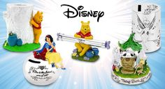 Encourage your kids to save with a delightful Disney money box – featuring your child's favourite fairytale characters like Tinkerbell & Winnie the Pooh