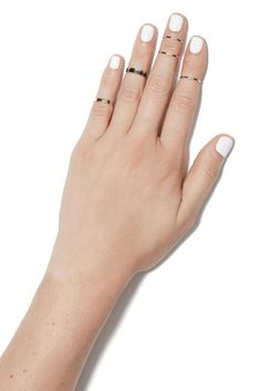 Stacked Midi Ring Set | Shop Jewelry at Nasty Gal