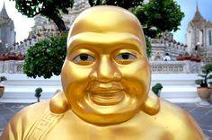Golden Buddha in Wat Arun